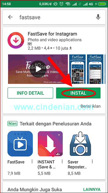 Cara Download Foto dan Video Instagram di HP Android