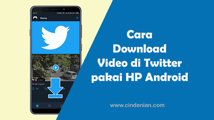 Cara Mudah Download Video di Twitter pakai HP Android