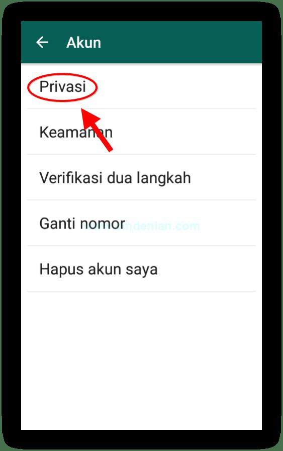 cara memblokir kontak whatsapp dengan
