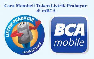 Cara Membeli Token Listrik Prabayar di mBCA
