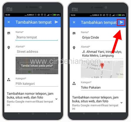 Cara Menambahkan Tempat pada Google Map