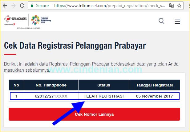 Cara Cek Registrasi Nomor SIM Prabayar