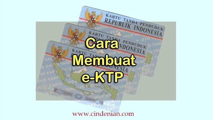 Cara membuat e-KTP baru
