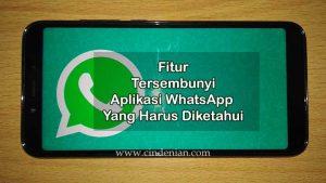 Beberapa Fitur Tersembunyi di WhatsApp Yang Harus Diketahui