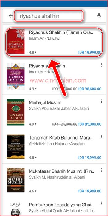Cara Membeli Buku di Google Play Store