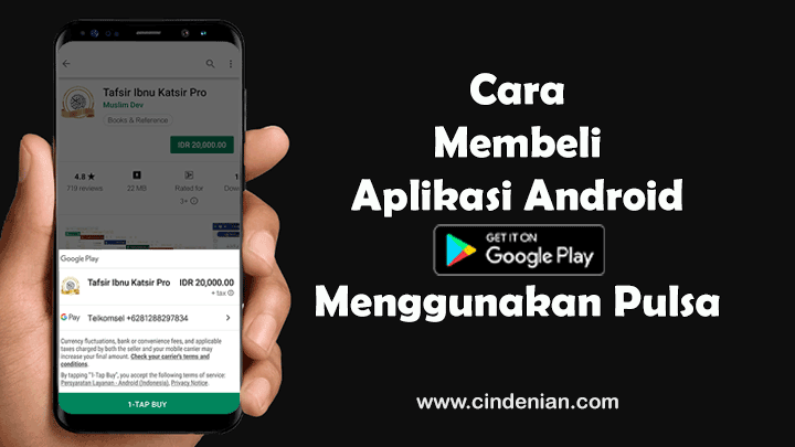 Cara Membeli Aplikasi Android di Play Store Menggunakan Pulsa