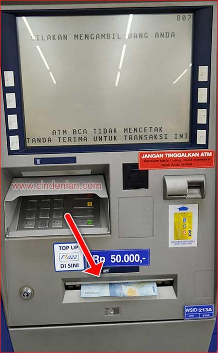 Cara Tarik Tunai Sakuku di ATM Dengan Mudah