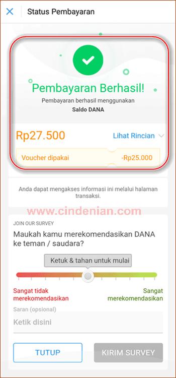Cara Menggunakan DANA Voucher 25k Untuk Beli Token Listrik