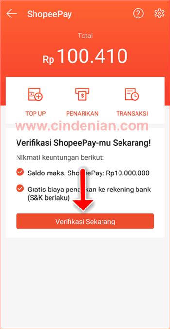 Cara Mudah Verifikasi KTP ShopeePay