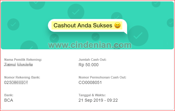 Cara Cash Out AyoSaldo