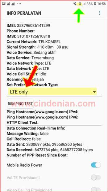 Cara Mengunci Jaringan 4G LTE Menggunakan Software