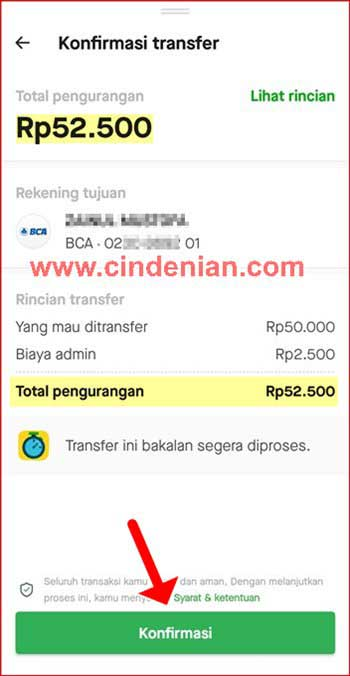 Cara Transfer Saldo GoPay ke Rekening Bank