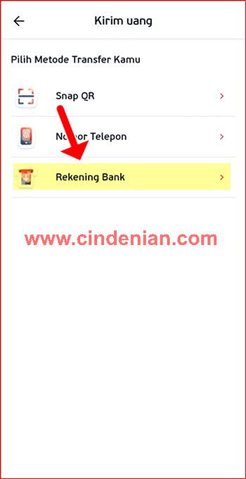 Cara Transfer Saldo LinkAja ke Rekening Bank