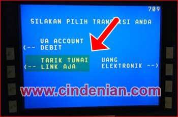 Cara Tarik Tunai Saldo LinkAja di ATM  BNI